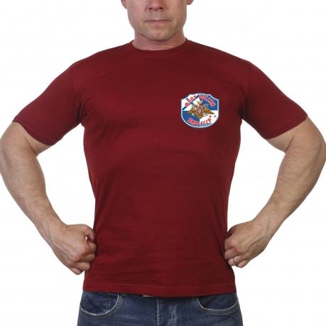 Краповая футболка ВМФ