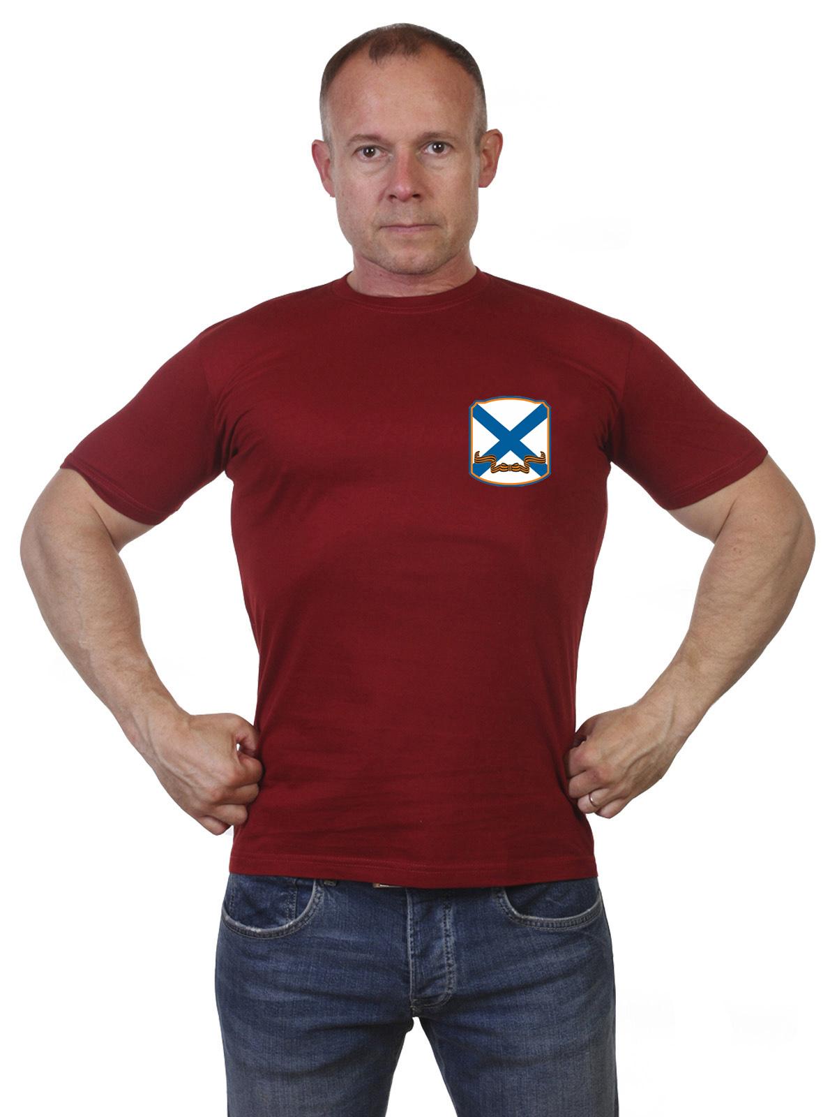 Мужская футболка с термотрансфером ВМФ