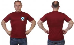 Краповая футболка ВМФ России