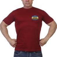 Краповая мужская футболка военного разведчика