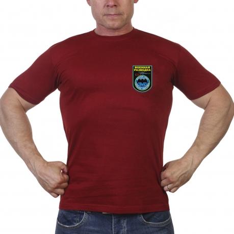 Краповая футболка военной разведки с девизом