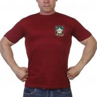 """Краповая футболка """"Звезда охотника"""""""