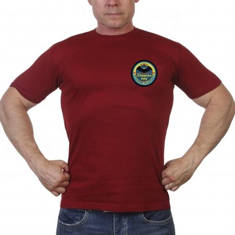 Краповая спецназовская футболка с шевроном