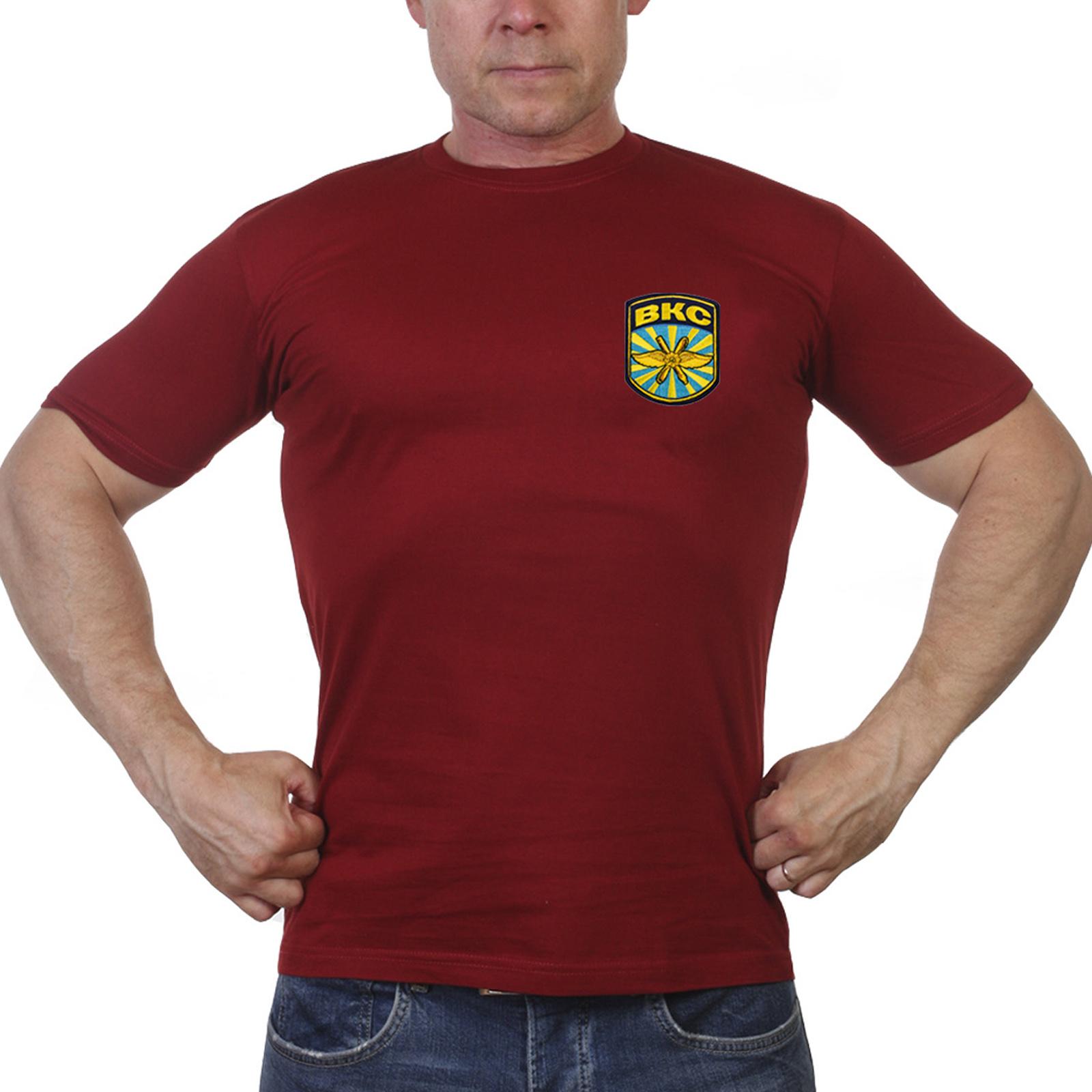 Краповая военная футболка ВКС