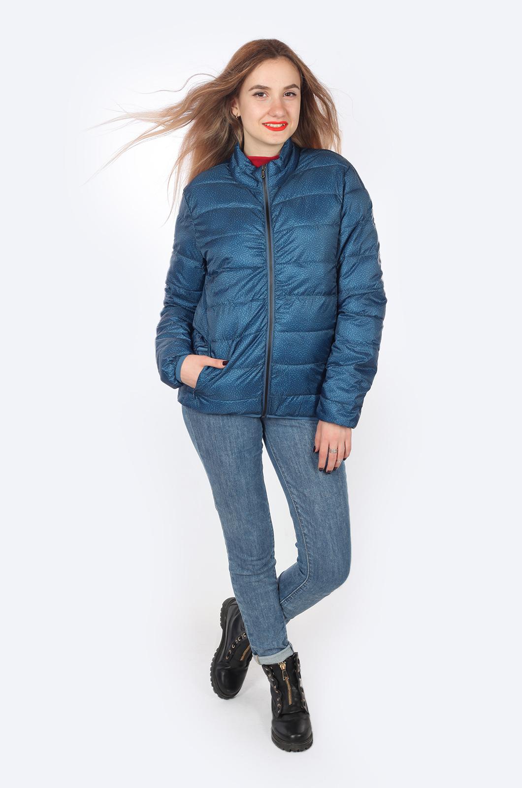 Голубая женская куртка JCT & CO, США