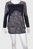 Красивая женская туника с длинным рукавом от Collexion Womens Wear
