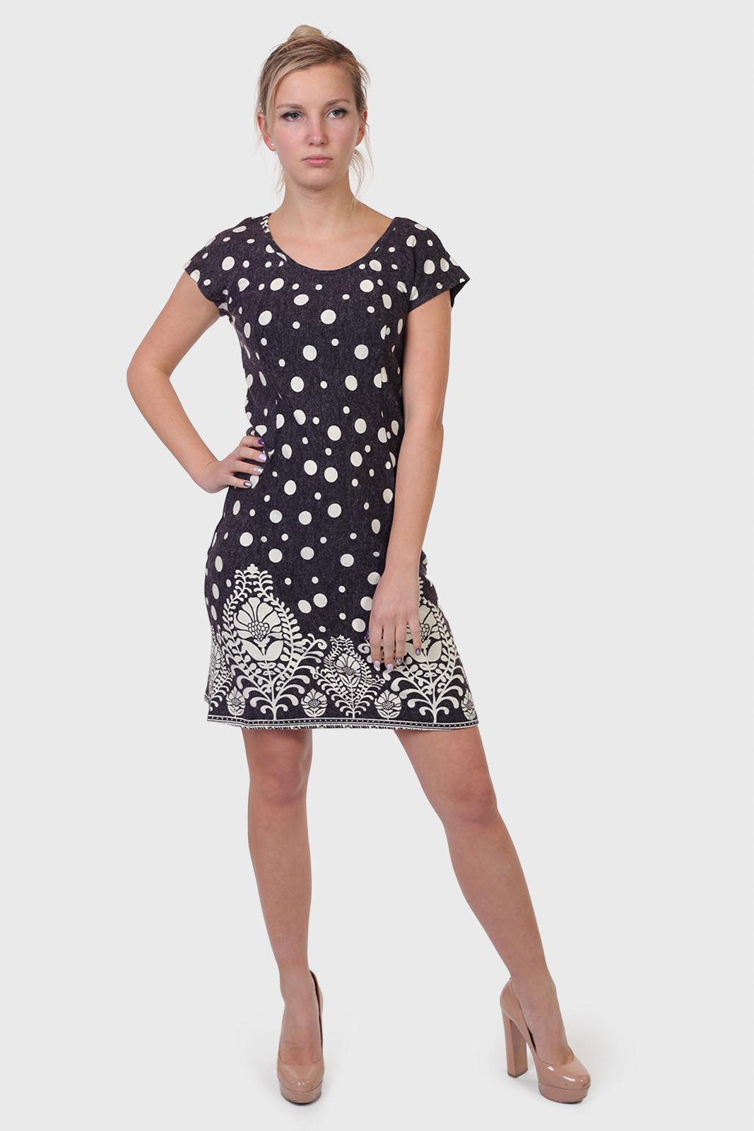 Купить в интернет магазине женское платье в горох