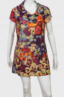 Красивое ретро-платье от Le Grenier с цветочным принтом.