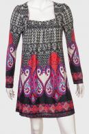 Красивое женское платье с оригинальным вырезом от Pjstachio