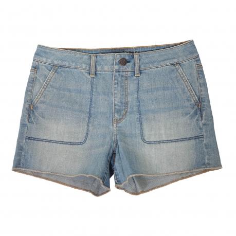 Купить красивые светлые джинсовые шорты
