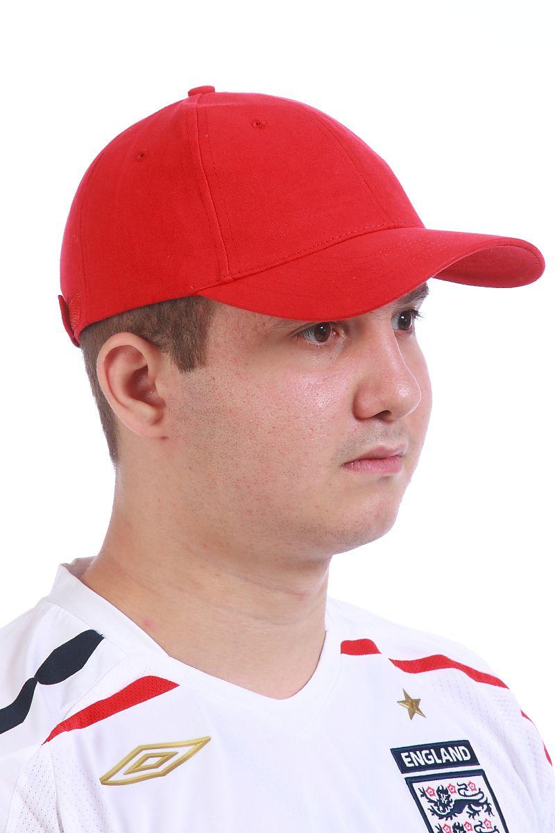Красная бейсболка - купить в интернет-магазине
