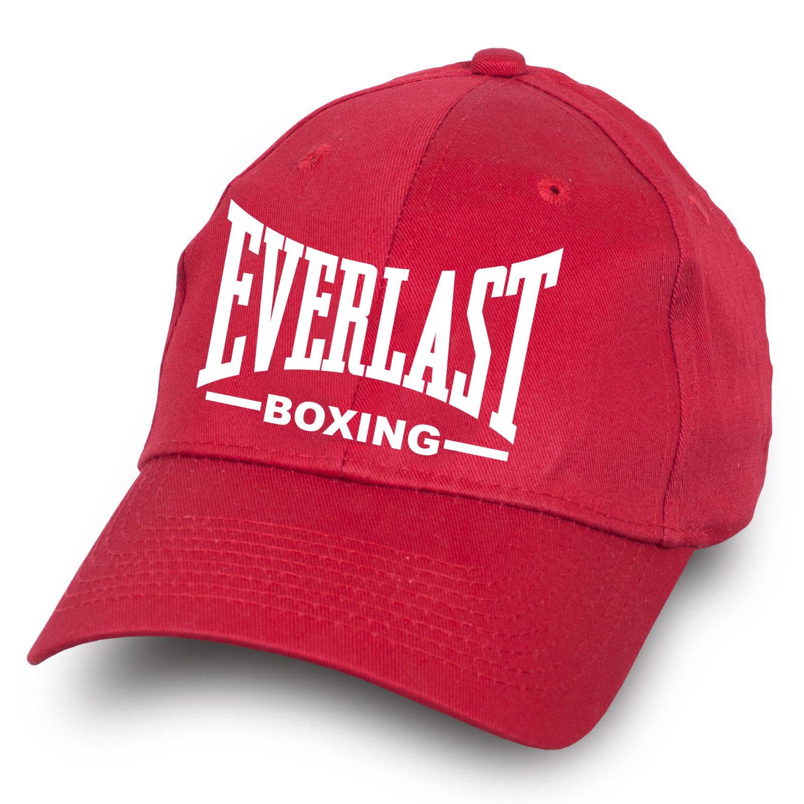 Красная бейсболка Everlast - заказать оптом