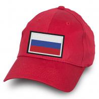 Красная бейсболка Россия
