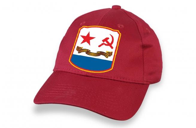 Красная бейсболка ВМФ СССР