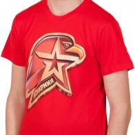 Красная футболка Юнармии