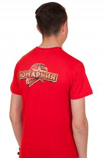 Красная футболка Юнармии по выгодной цене