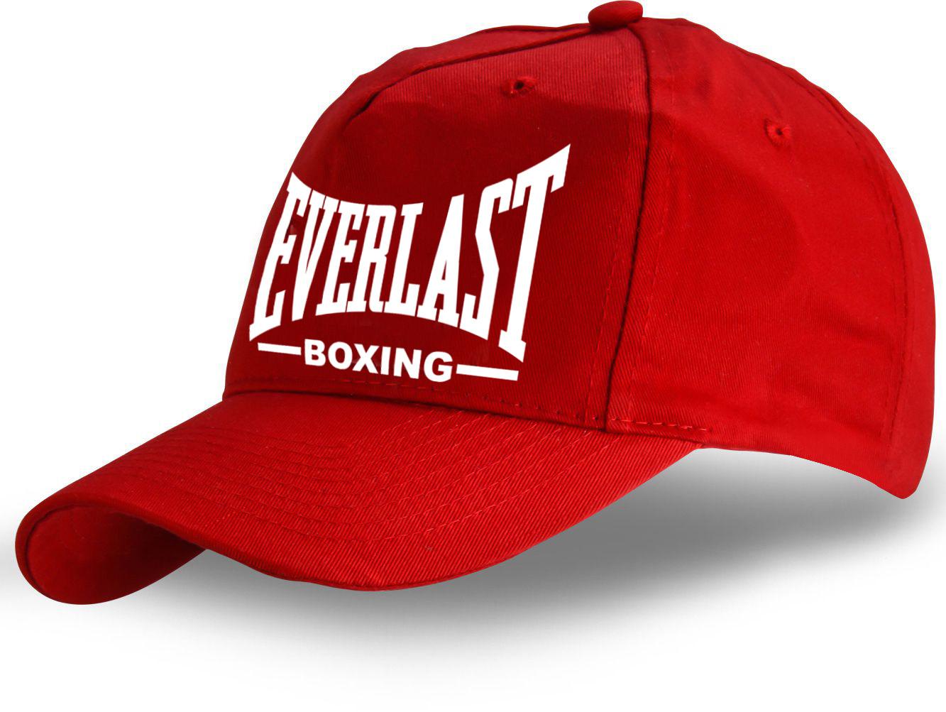 Красная кепка Everlast - купить в интернет-магазине