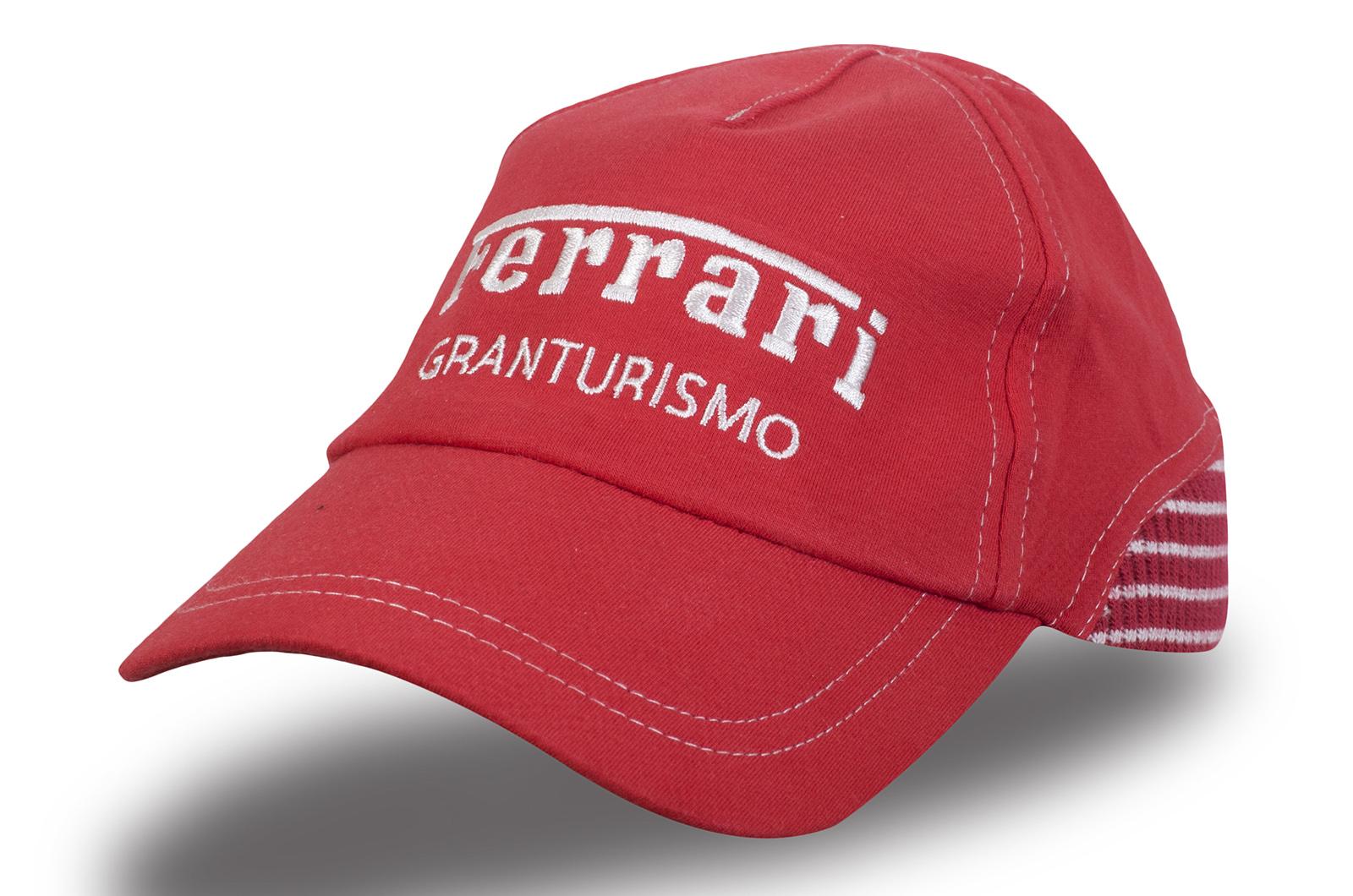 Красная кепка Феррари - купить в интернет-магазине с доставкой