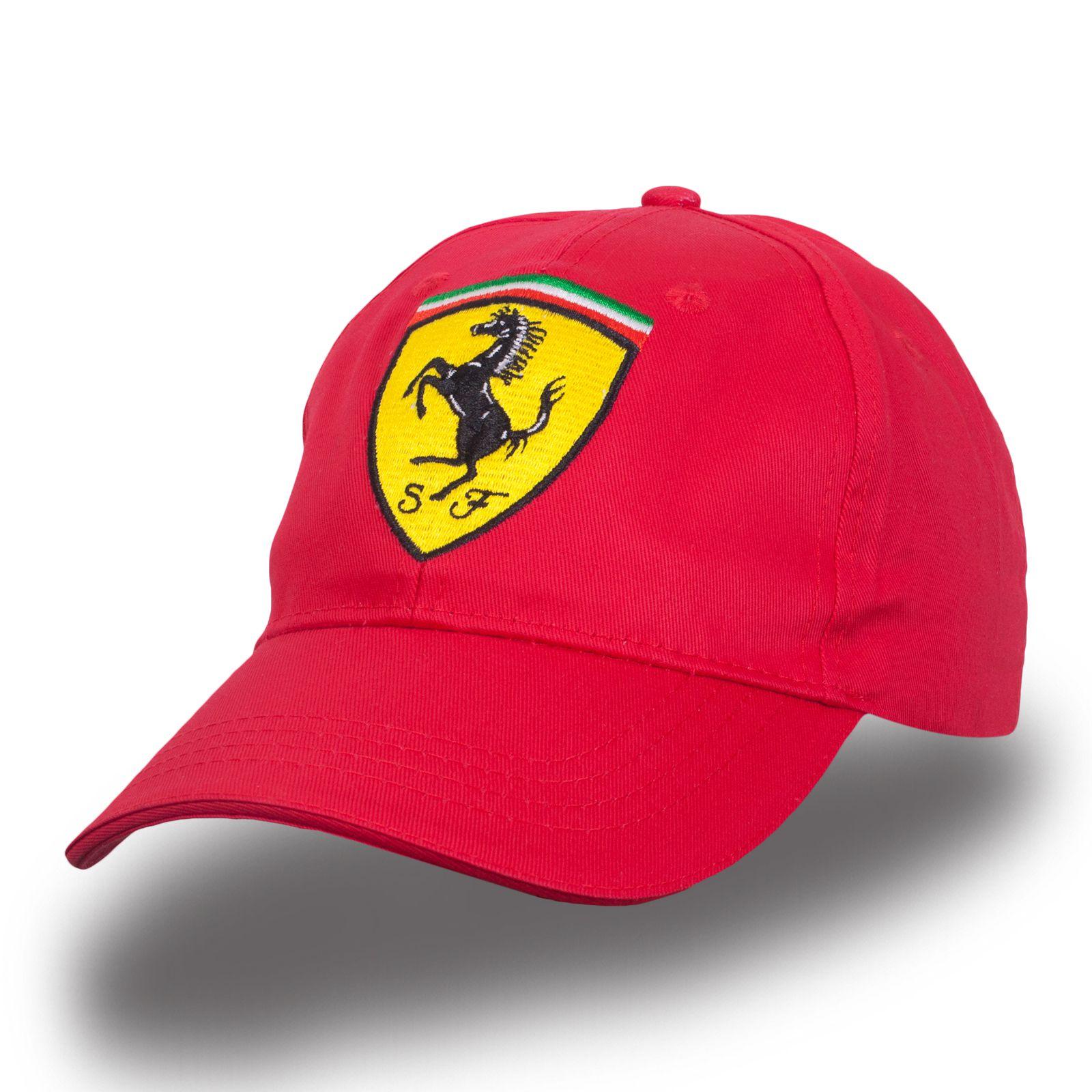 Красная кепка Ferrary - купить в интернет-магазине с доставкой