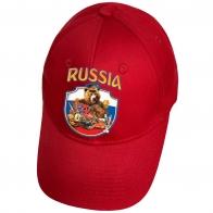 Красная кепка Russia
