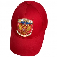 Красная кепка Russian Federation