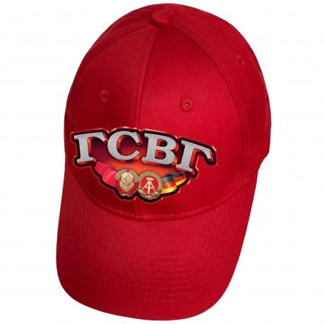 Красная кепка с термопереводкой ГСВГ