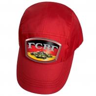 Красная кепка с термопринтом ГСВГ