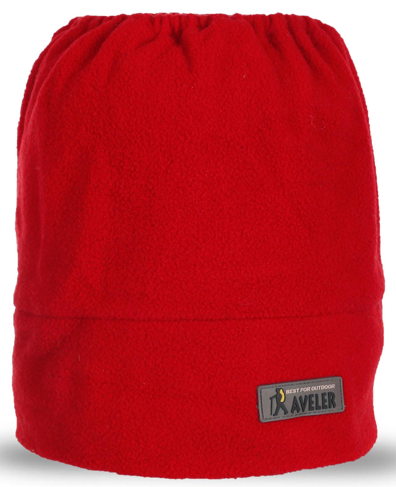 Красный горловик Aveler. Очень теплый и практичный. Ограниченная серия, скорее заказывай!