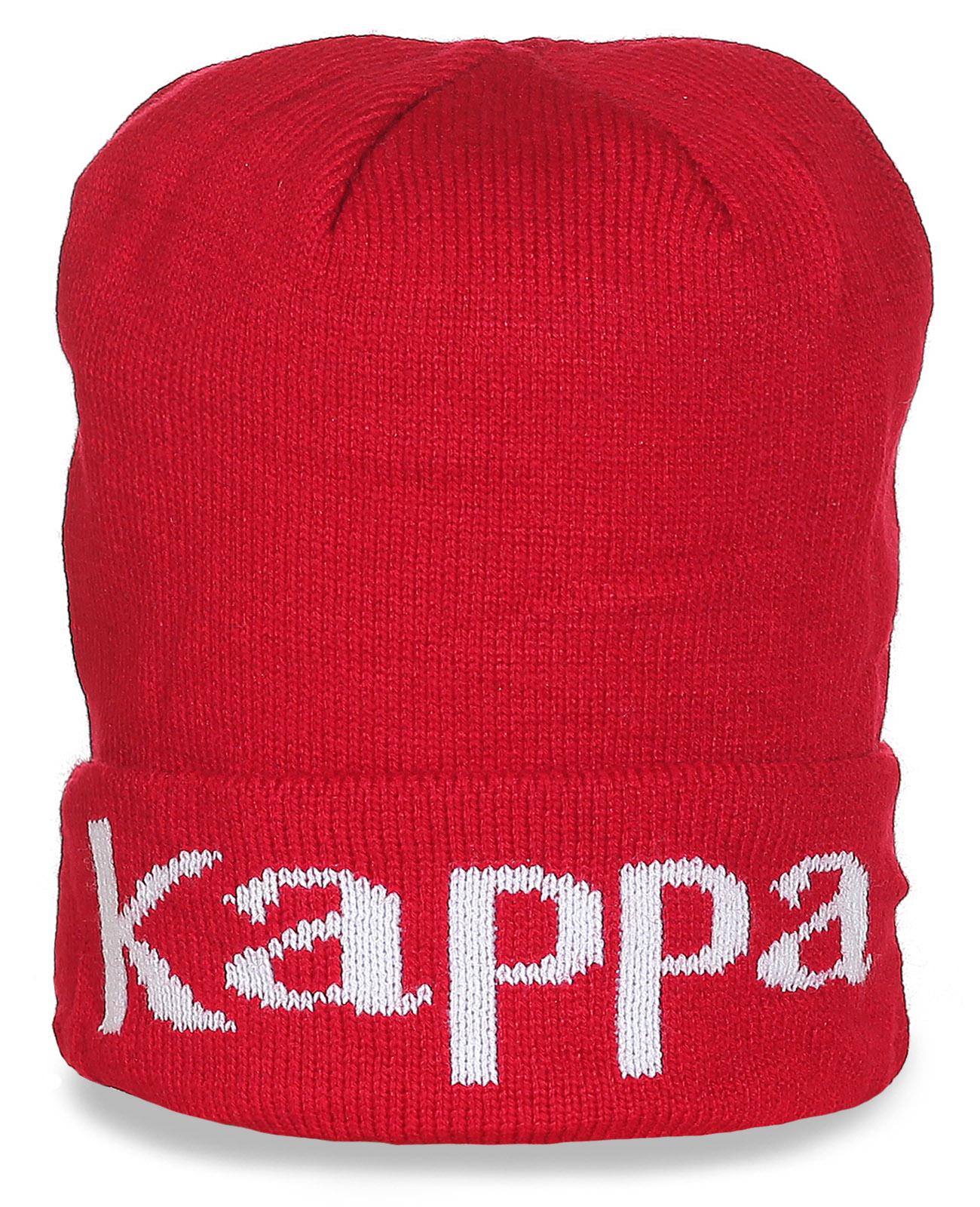 Красная шапка с надписью
