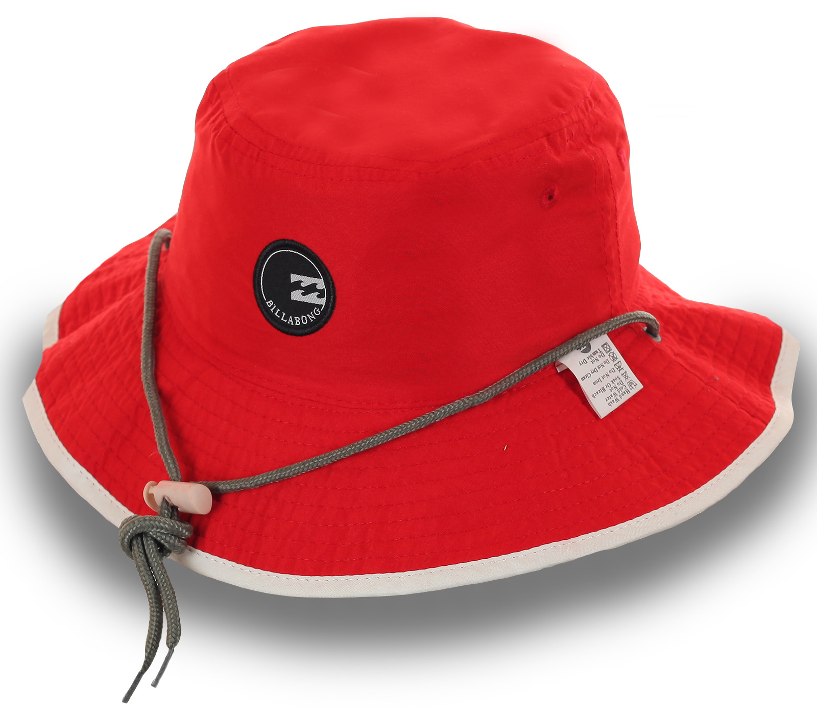 Заказать панамку красного цвета с широкими полями