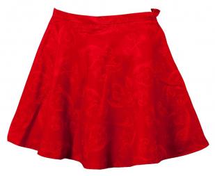 Красная юбка расклешенная по лучшей цене