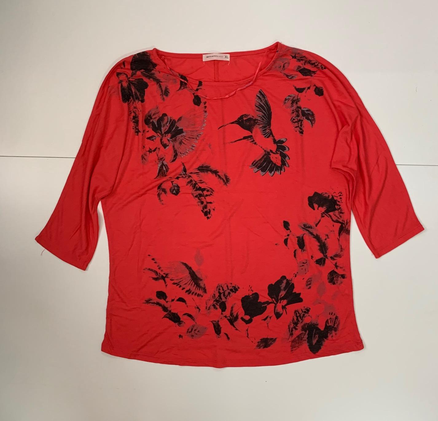 Красная женская кофточка от Encuentro