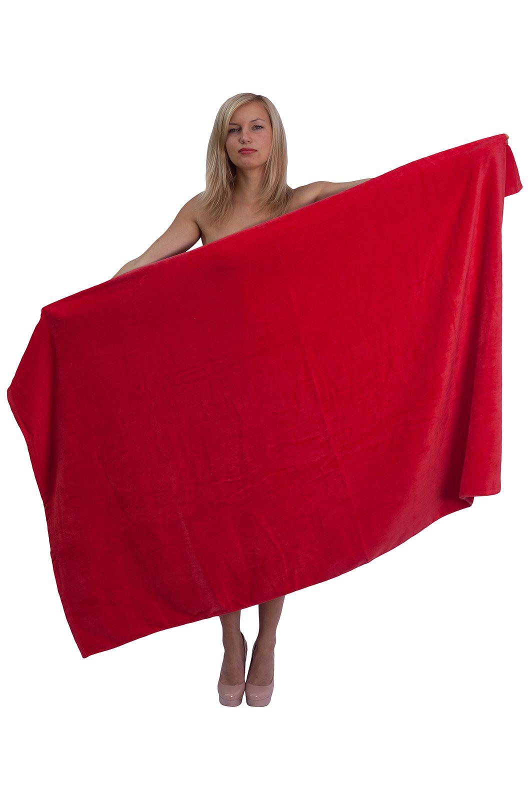 Красное махровое полотенце - купить онлайн в интернет-магазине