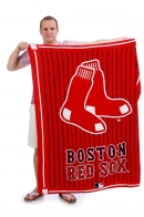 Красное полотенце Boston Red Sox