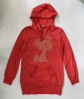 Красное женское худи от SNOOPY