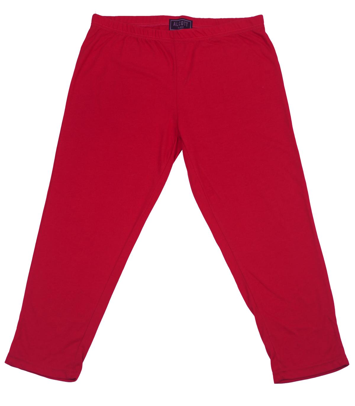 Красные бриджи Alcott Black