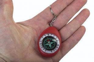Красный брелок с компасом K280 по лучшей цене