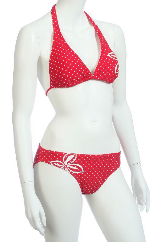 Красный купальник женский