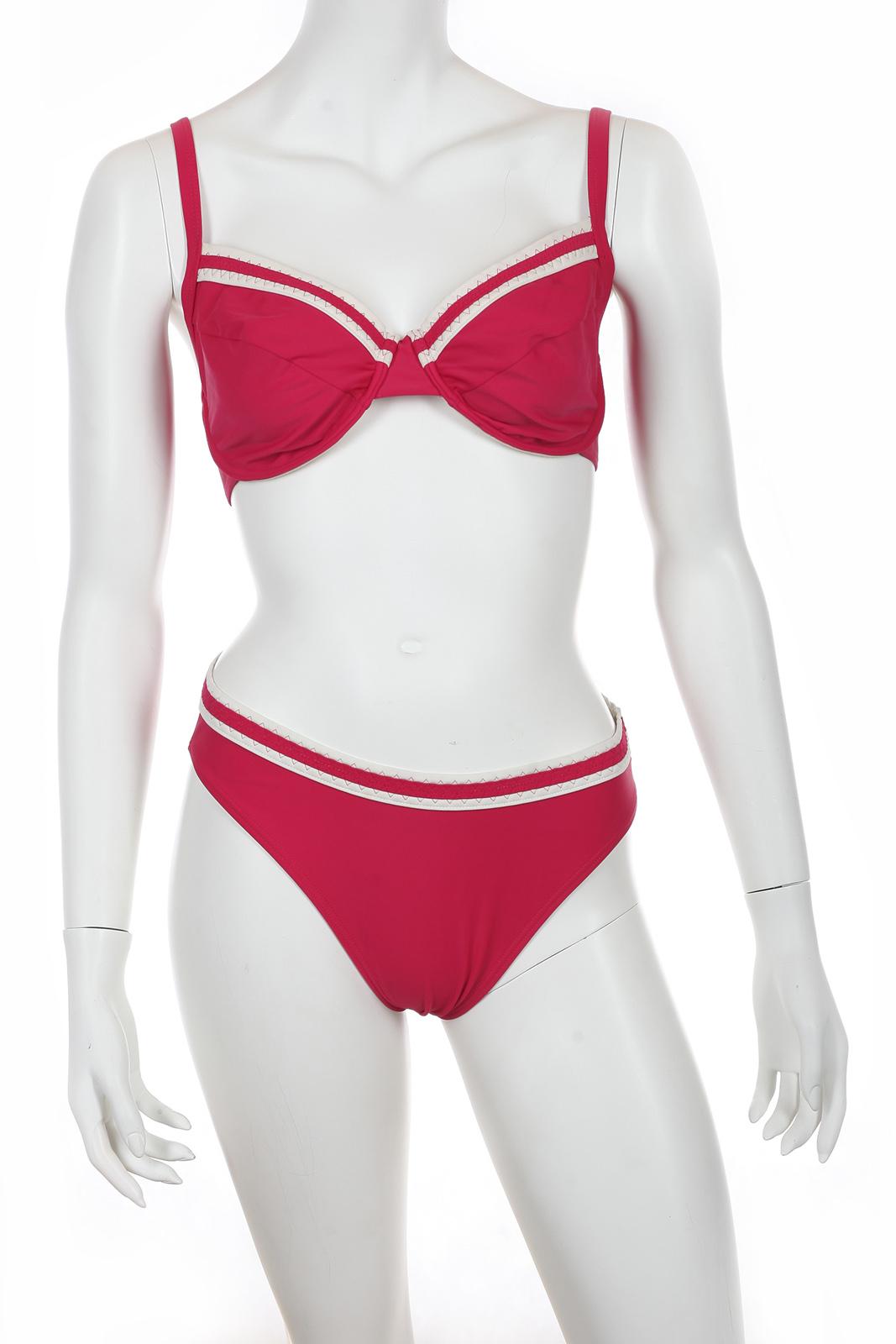 Красный раздельный купальник от Lascana.