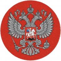 Красный шеврон Герб России
