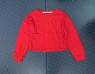 Красный женский свитшот от Heart Hips