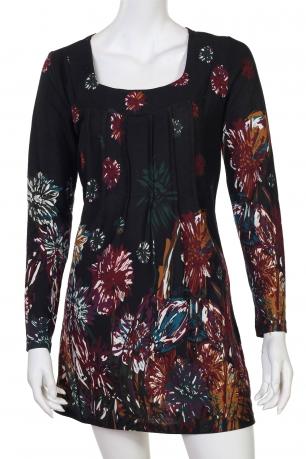 Красочное платье с декольте-каре от Adore