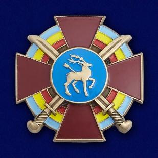 Купить крест Всевеликого войска Донского в бордовом футляре из флока