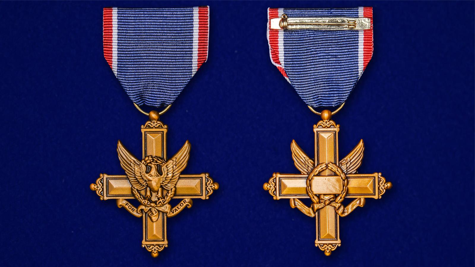 """Американский Крест """"За выдающиеся заслуги"""" - аверс и реверс"""