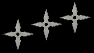 Крестообразные сюрикены металлические с доставкой