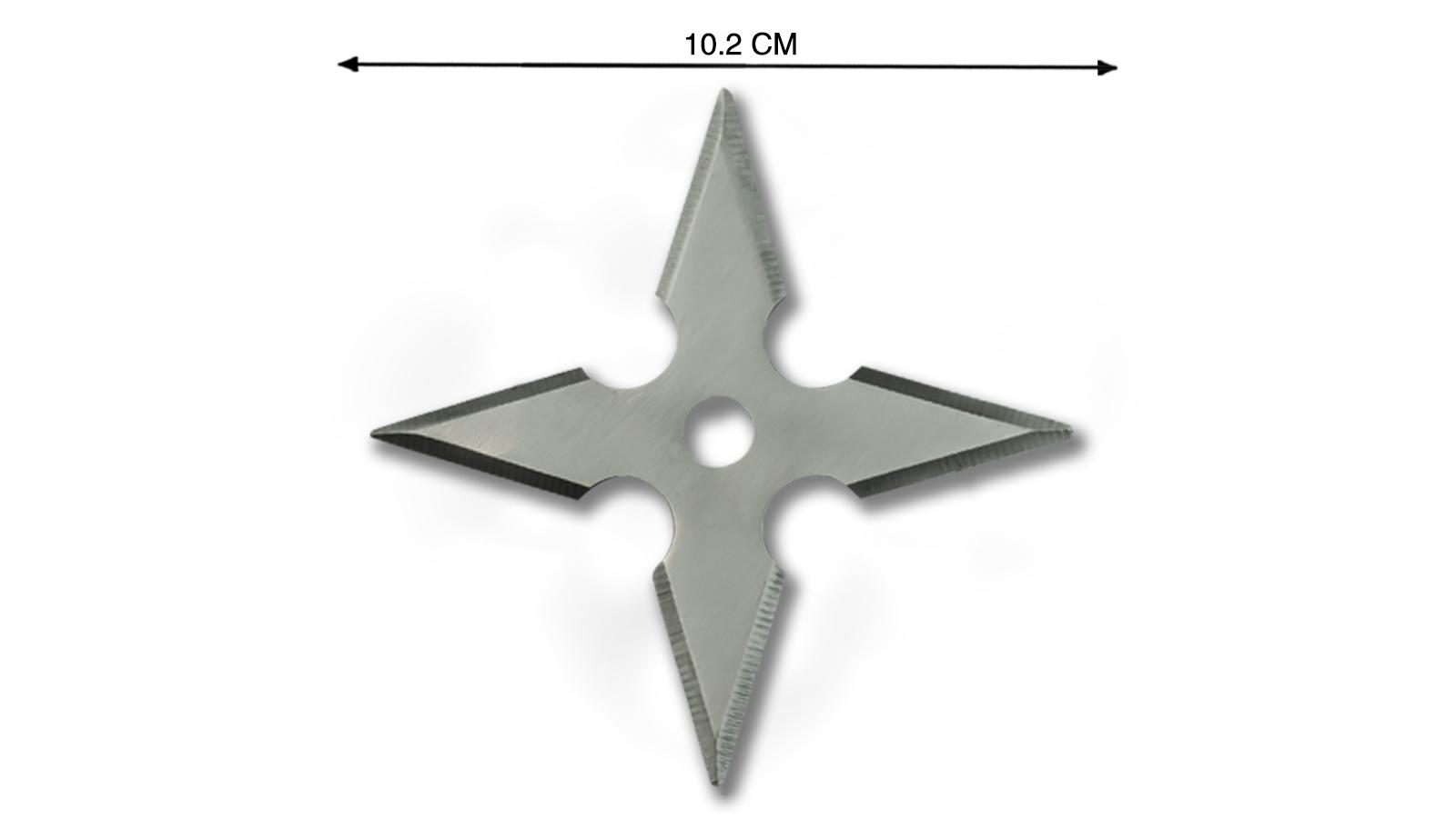 Крестообразные сюрикены металлические высокого качества