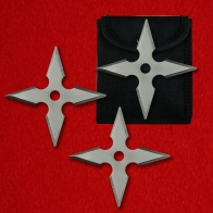 Крестообразные сюрикены металлические