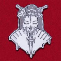 """Криповый дизайнерский значок """"Мертвая невеста"""""""