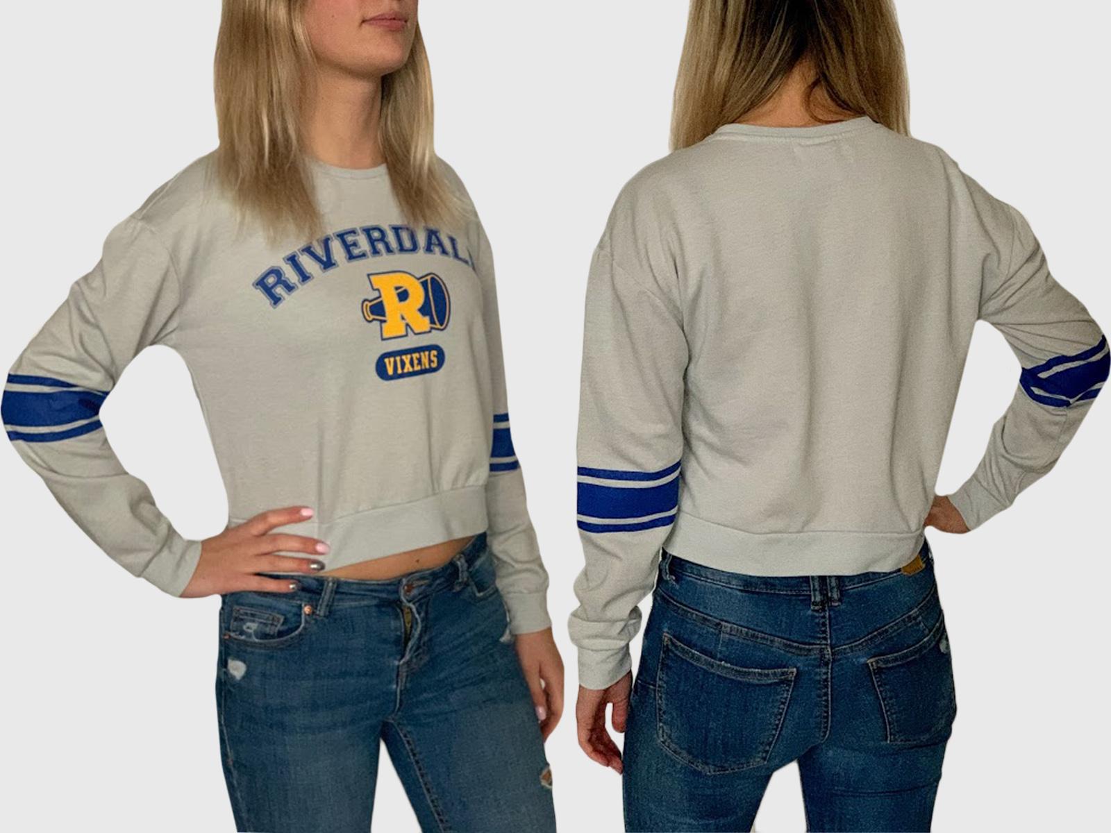 Женская кофта кроп-топ Riverdale
