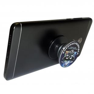 Круглая подставка-держатель для телефона с девизом Военной разведки по выгодной цене